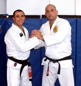 Royler Gracie and Victor Huber