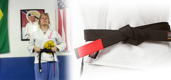 Kelly Beech black belt photo