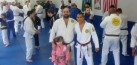 Royler, Victor and Kyra at the Royler Gracie Seminar 2013